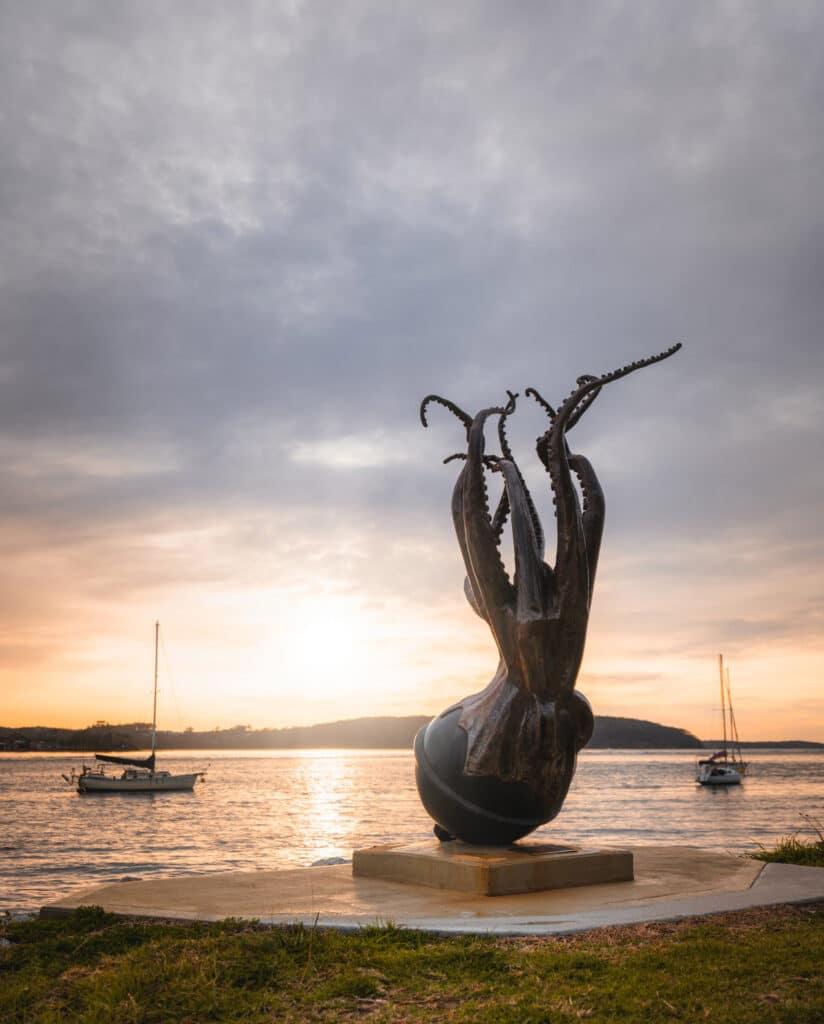 Batemans Bay sculpture walk