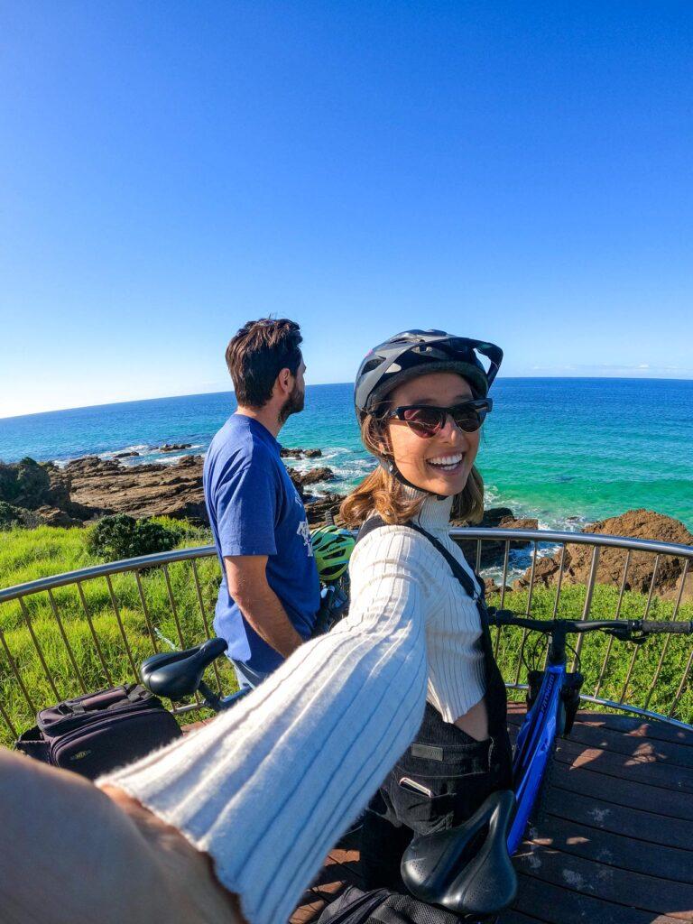 Cycling at Dalmeny