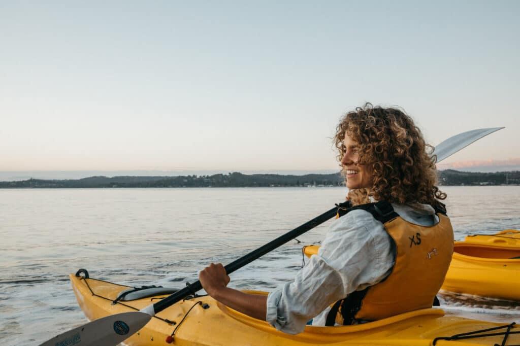 Kayaking at Batemans Bay