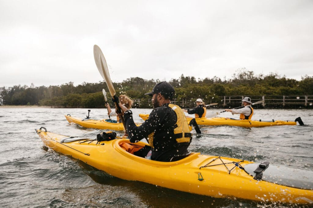 Kayaking with Region X
