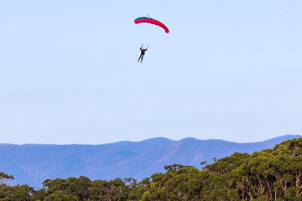 Skydiving in Eurobodalla
