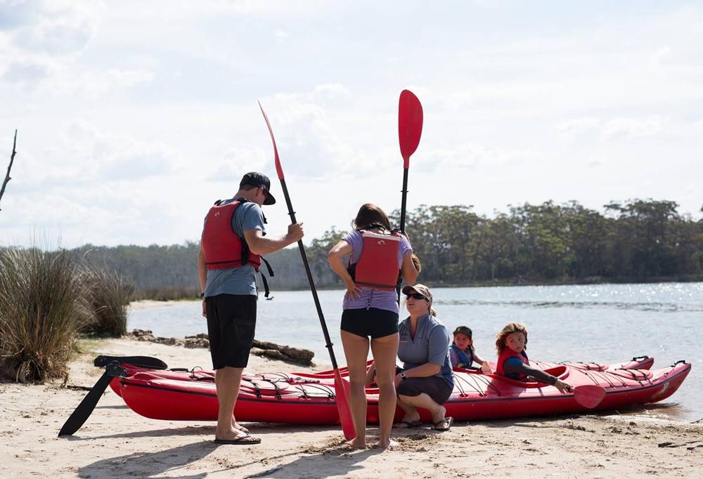 Carolyn Morey, Bay and Beyond Kayak Tours