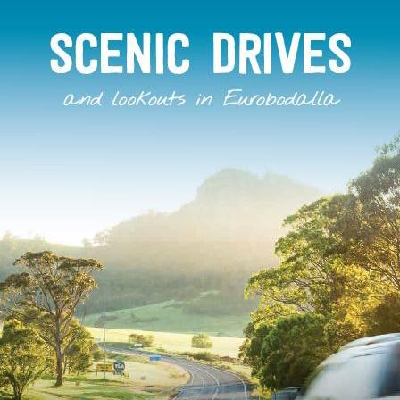 Scenic Drives brochure cover