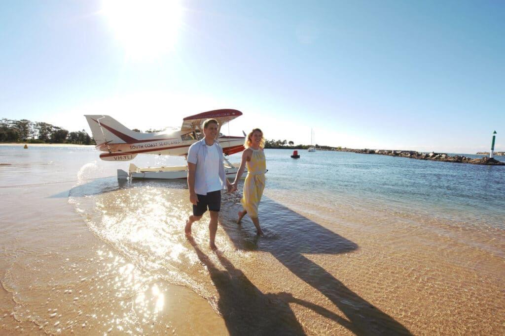South Coast Seaplane tour