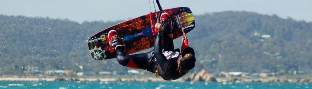 Kitesurfing at Batemans Bay